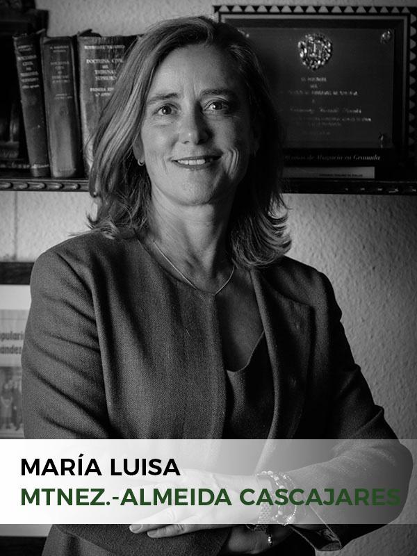 Mª Luisa Martínez-Almeida Cascajares